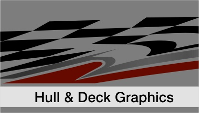 RACELINE DIGITAL Boat Graphics Motorsport Graphics - Vinyl stickers for rc boats